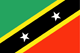 flag Saint Kitts and Nevis